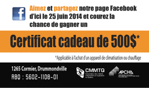 Thermopompe, Lg, Energy star, Concours